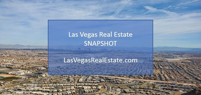 Las Vegas Real Estate Snapshot - LasVegasRealEstate.com