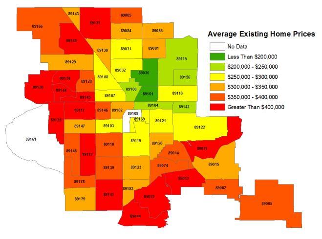 Average Existing Home Prices for July 2020 - LasVegasRealEstate.com